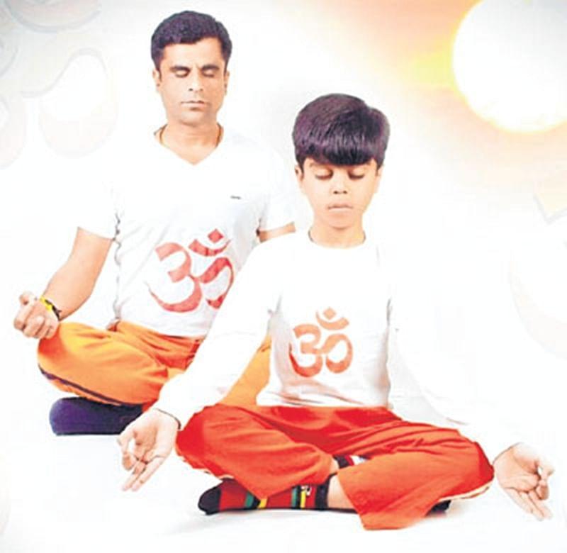 Ujjain: Yoga at Ujjainites' doorstep is Pankaj Sharma's pet project