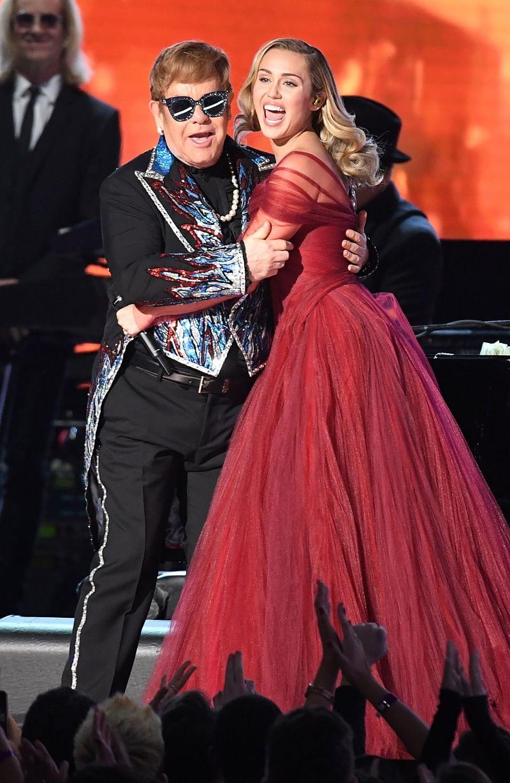 Elton John is a Miley Cyrus fan