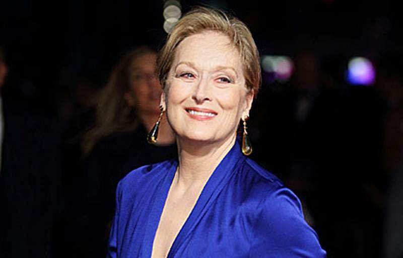 Meryl Streep was slapped by Hoffman