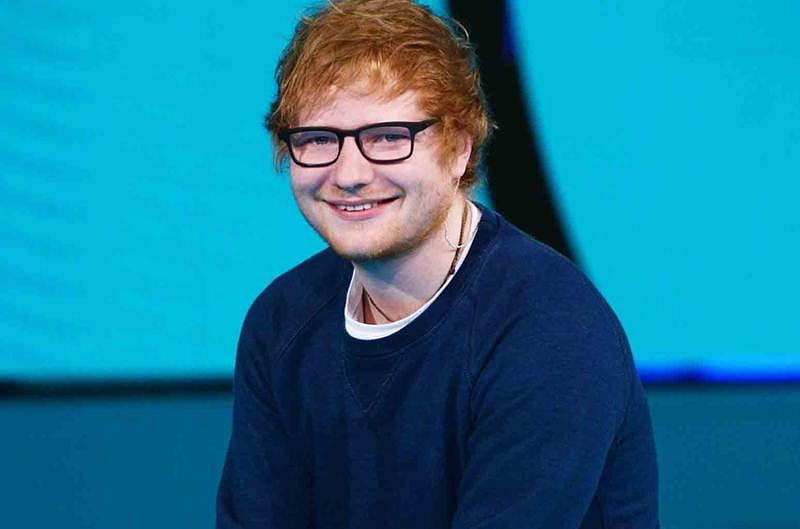 Ed Sheeran is ketchup crazy