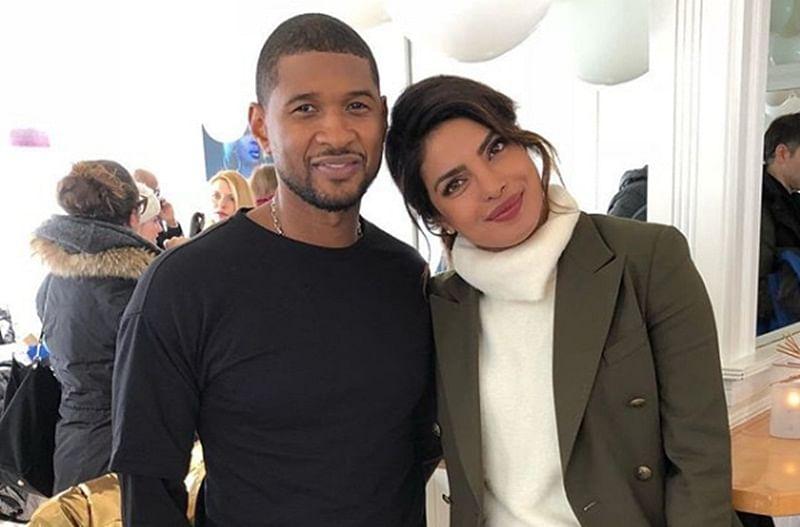 Priyanka Chopra hangs out with Usher
