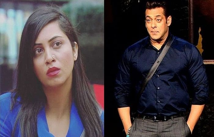 After Bigg Boss 11, Arshi Khan and Salman Khan to be seen together again?
