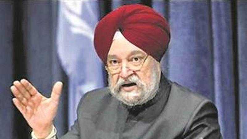 Minister of State for Housing and Urban Affairs Hardeep Singh Puri