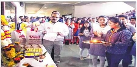 Indore: Basant Panchami: May Saraswati blesses with more knowledge and art in life