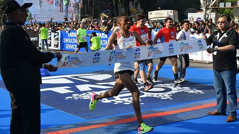 Mumbai Marathon 2018: Solomon Deksisa and  Amane Gobena of Ethiopia win the marquee event