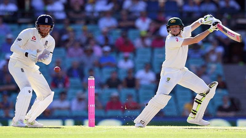 Ashes 2017-18: Steve Smith milestone as Aussies chip away at England lead