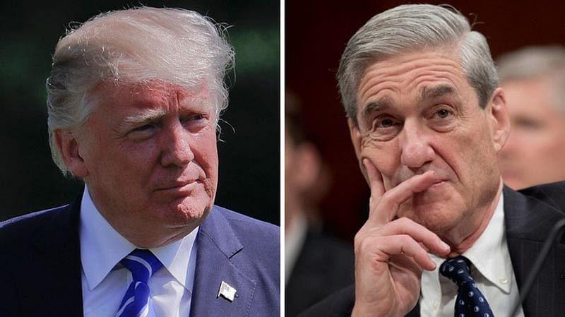 Trump ready to speak to Mueller under oath in Russia probe