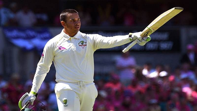 Ashes 2017-18: Usman Khawaja century leads Australia to 277-3 at lunch