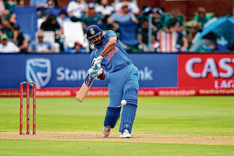 Rohit Sharma ready to join six-hitting giants Afridi and Gayle
