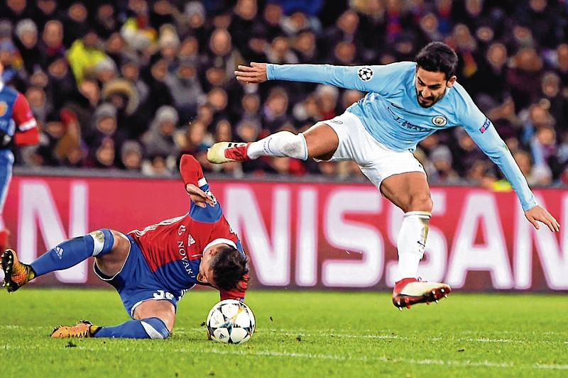 Man City runs riot at Basel