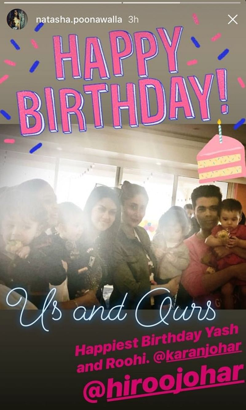 Karan Johar's kids Yash and Roohi turn 1: This is how B-Town celebs made it special