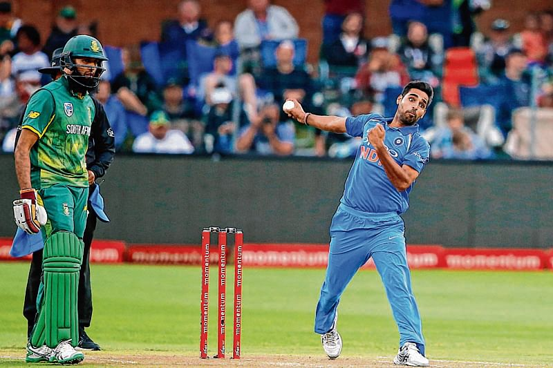 We have managed short-pitched balls pretty well, says Bhuvneshwar