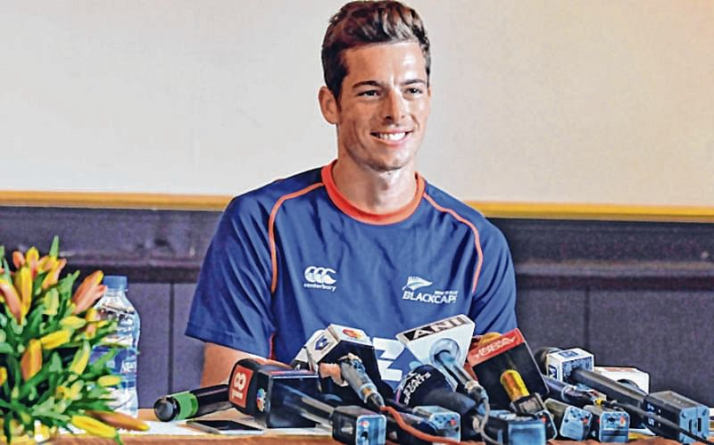 Happy to be bowling to Dhoni in CSK nets than in a match, says Santner