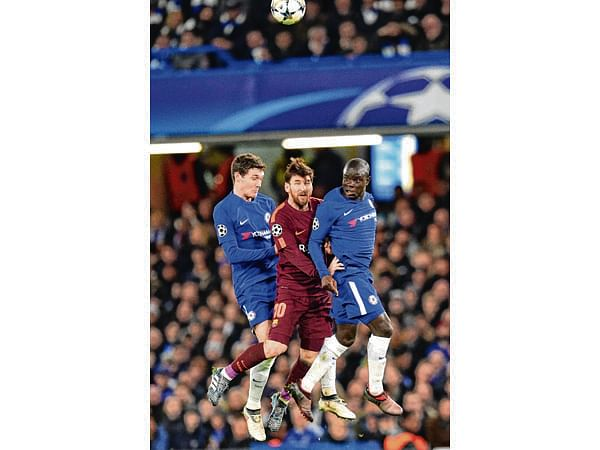 Messi ends drought against Chelsea