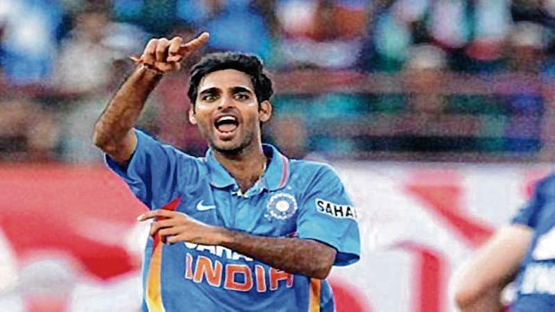 Bhuvi, Shikhar move up in ICC rankings