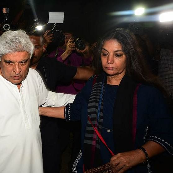 Javed Akhtar opens up on Shabana Azmi's accident: 'First thought was 'Is she alive?'