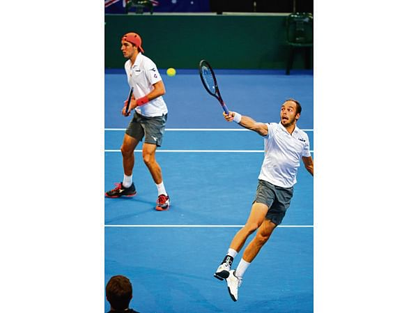 Germans wins thrilling Davis Cup doubles clash to lead tie vs Australia