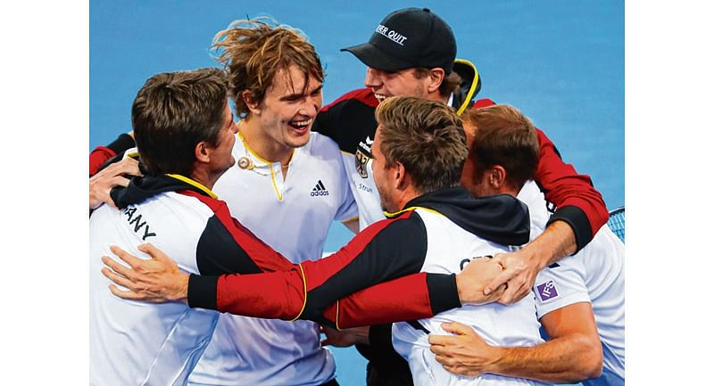 Germany wins Davis Cup tie against Australia