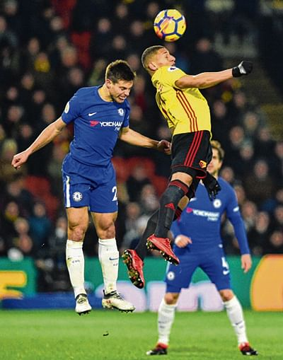 Chelsea's slump deepens with loss to Watford 1-4