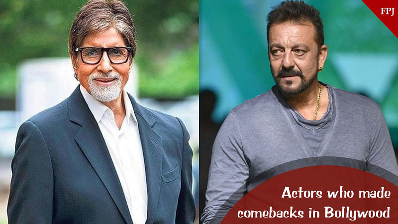 Amitabh Bachchan to Sanjay Dutt: 9 Bollywood actors who made a comeback