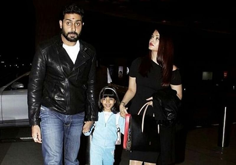 Airport Diaries: Abhishek, Aishwarya and their daughter Aaradhya fly outon family vacation; see pics