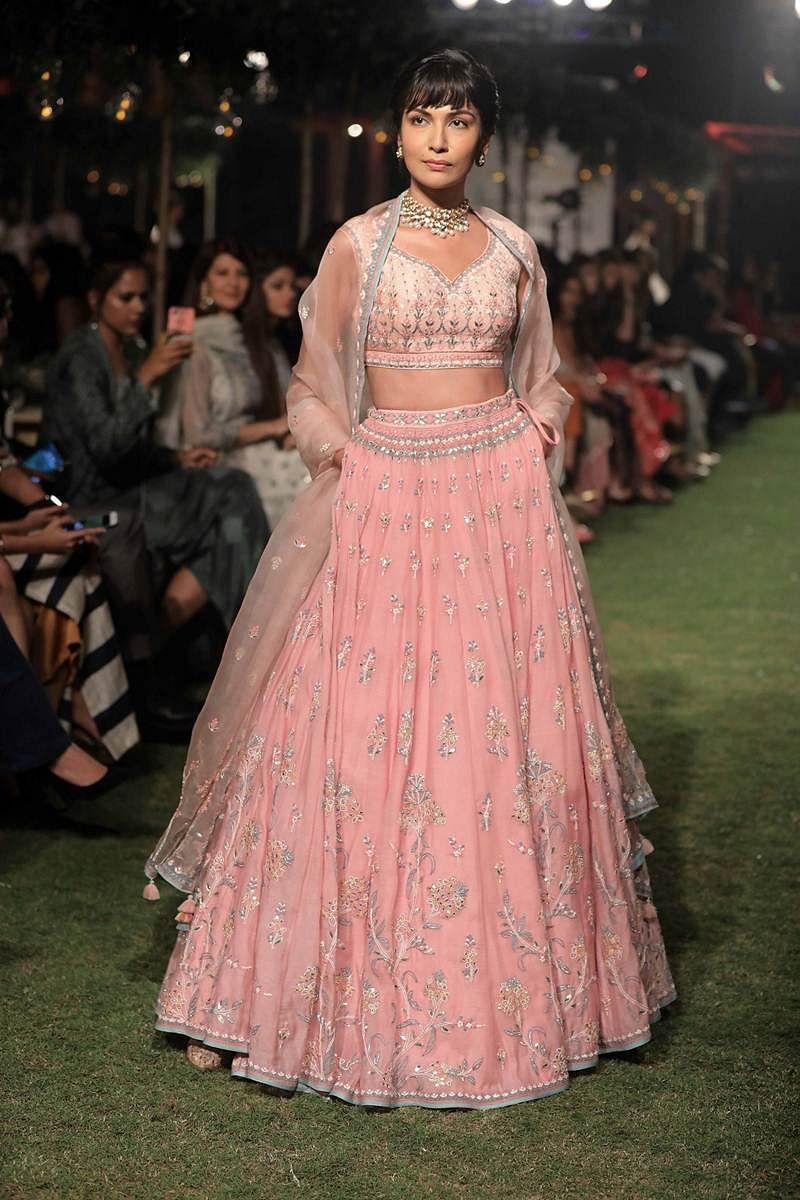 Lakme Fashion Week 2018: Shahid-Mira walk the ramp as bride and groom for Anita Dongre