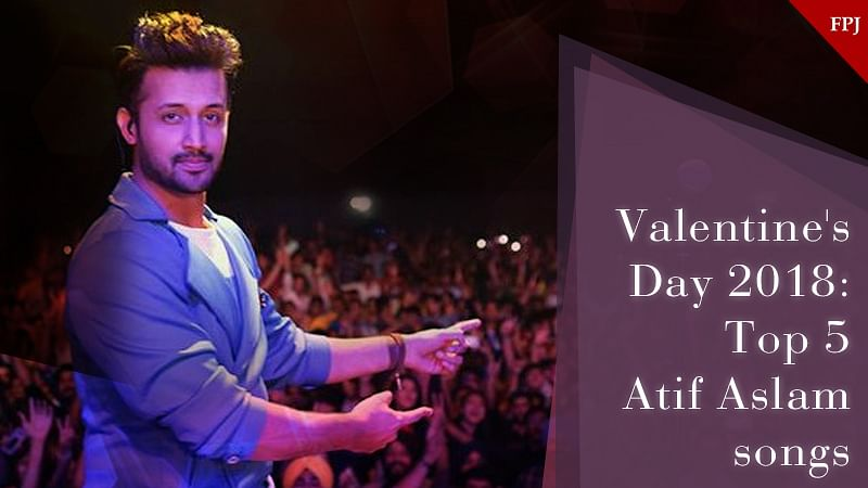 Valentine's Day 2018: Top 5 Atif Aslam love songs to dedicate to your Valentine