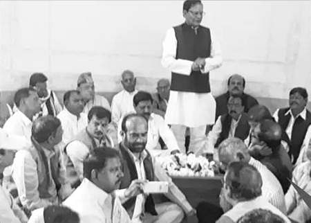Ujjain: Congress divisional observer holds meeting