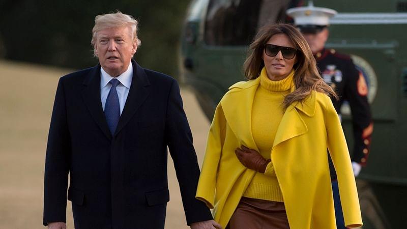 US President Donald Trump and First Lady Melania Trump (Representational pic)