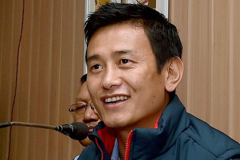 Former Indian footballer Bhaichung Bhutia resigns from TMC