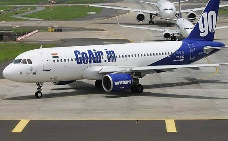GoAir flight returns had no-fly chart