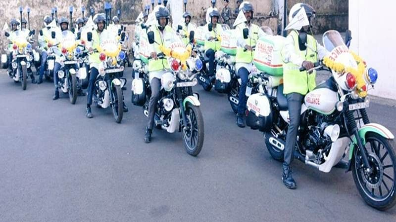 Goa government launches motorcycle ambulance service