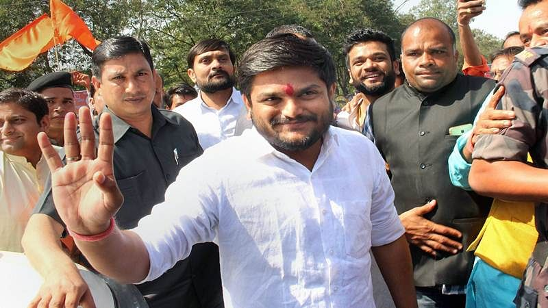 On second day of fast, Hardik receives support from RJD, TMC