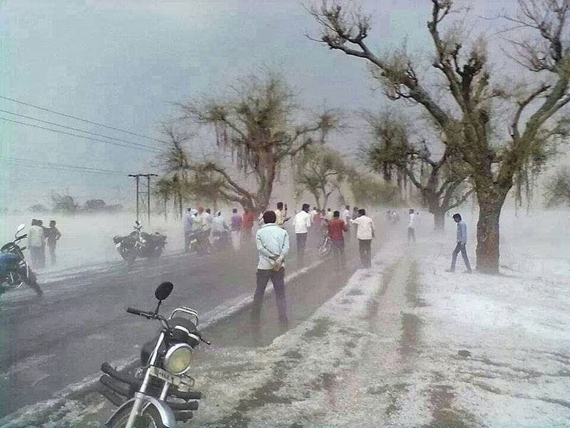 Hailstorm hits standing crops on 1.25L hectares in Maharashtra