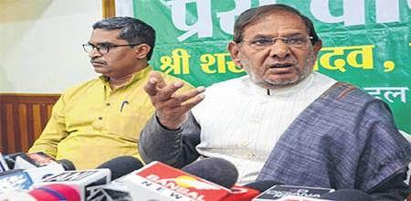 Bhopal: JD (U) leader Sharad Yadav demands PM's resignation