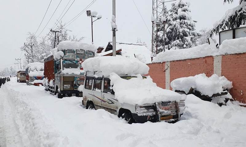 Pregnant woman evacuated from snow-bound area in Jammu and Kashmir