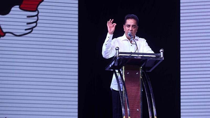 Kamal Haasan: Saffron should not spread all over tricolour