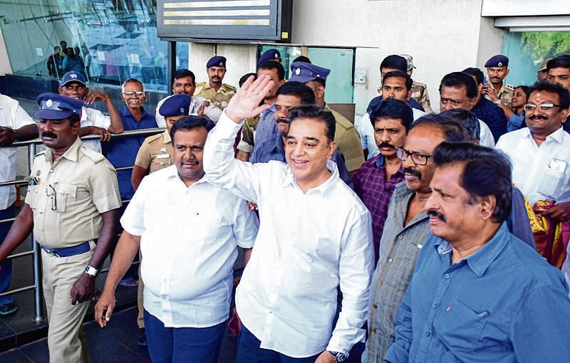 Kamal to start his political journey today