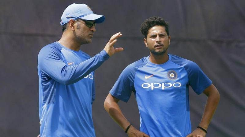 There are lot of times when MS goes wrong: Kuldeep Yadav stumps Dhoni with humour