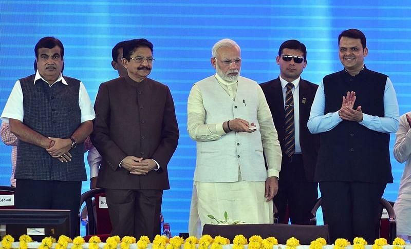 PM Narendra Modi lays foundation stone for Navi Mumbai airport, inaugurates JNPT terminal