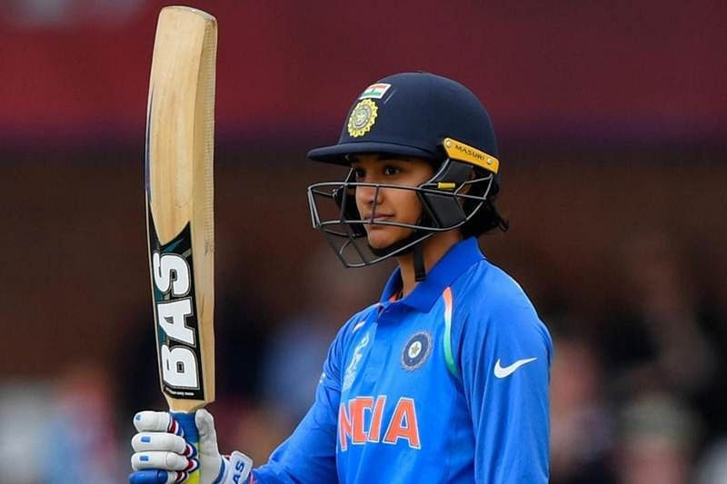Smriti Mandhana smashes 50 runs in 18 balls to equal fastest half-century record in women's T20 cricket