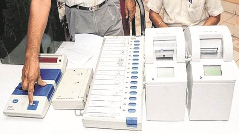 Nagpur: Person uses vehicle number plate to demand ban on EVM