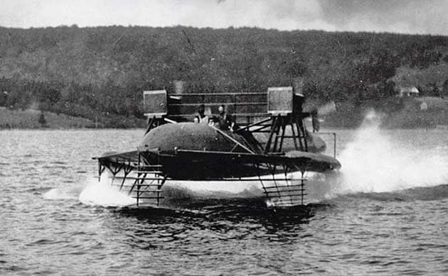 The HD-4 speedboat