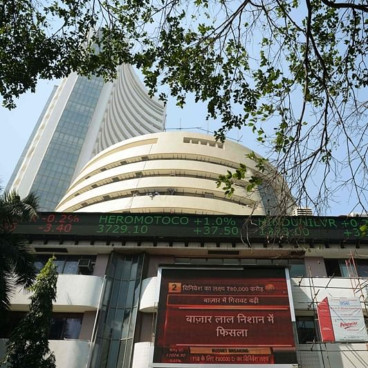 Sensex drops over 200 points in early trade; Nifty slips below 14,400