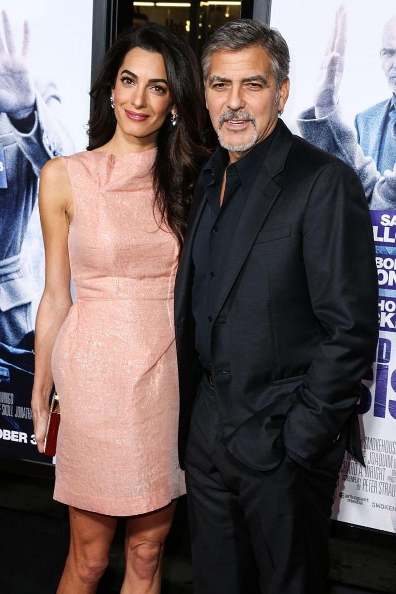 George Clooney reveals how he met Amal Clooney