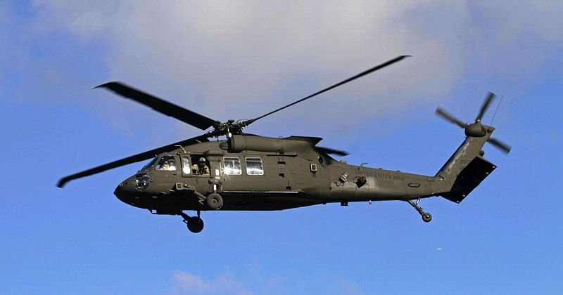 US military helicopter crashes in western Iraq