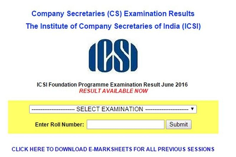 ICSI CS Foundation Result 2017 out; check results, names of top rankers at icsi.edu