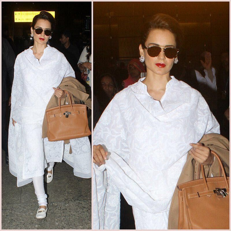LFW 2018: Kangana arrives in Mumbai; will be showstopper for Shyamal and Bhumika