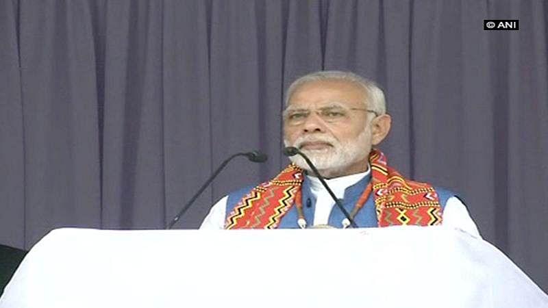 Cauvery row: Pro-Tamil activist show PM Narendra Modi black flags