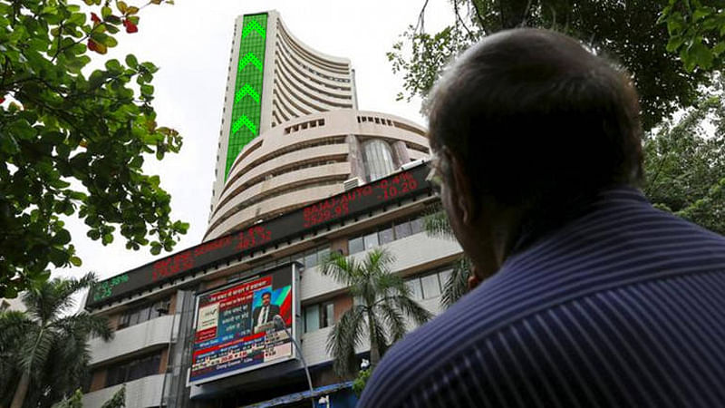 Sensex extends record run, jumps over 200 pts